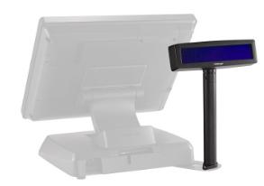 2-Line Customer Display with baseplate for Posiflex XT-5315